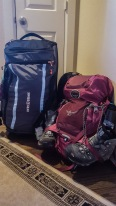 My life pack up for two weeks
