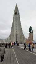 Famous Iceland church that is modeled after basalt columns